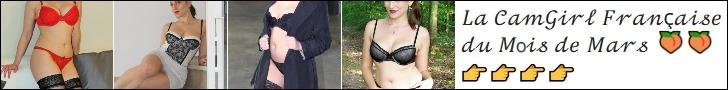 La camgirl française du mois